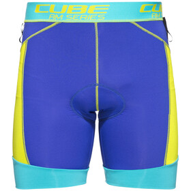 Cube AM Innenhose Herren blue'n'lime